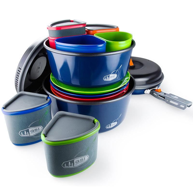 Sada nádobí GSI Outdoors Bugaboo Camper; 2+3l