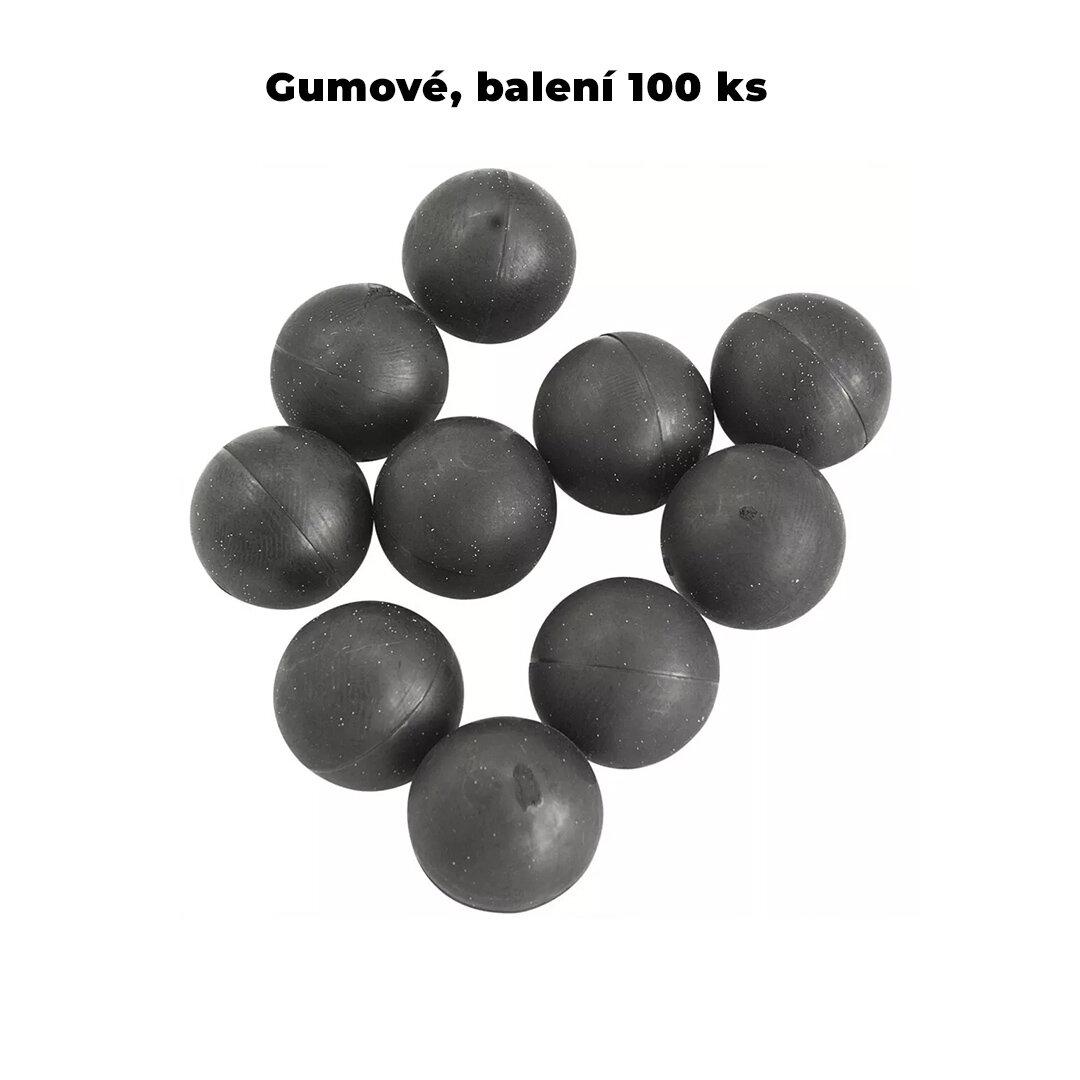 Kuličky RAM gumové T4E Rubber Ball cal.68 - 100 ks