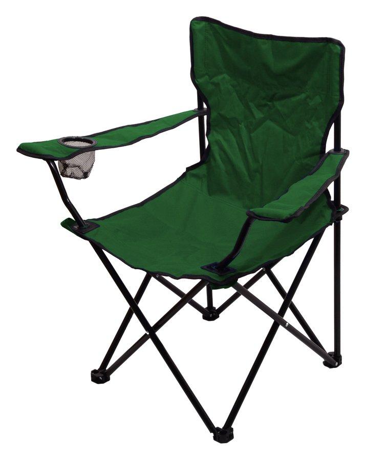 Zelená skladací židle Cattara BARI