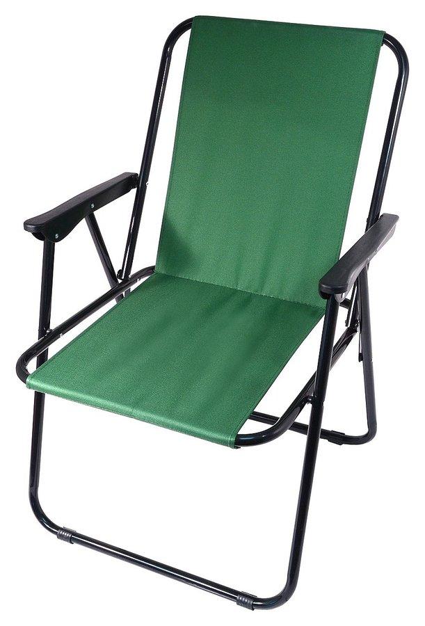 Zelená skladací židle Cattara BERN