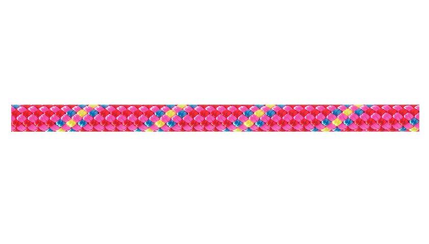 Růžové lano RANDO, Beal - délka 48 m a tloušťka 8,5 mm