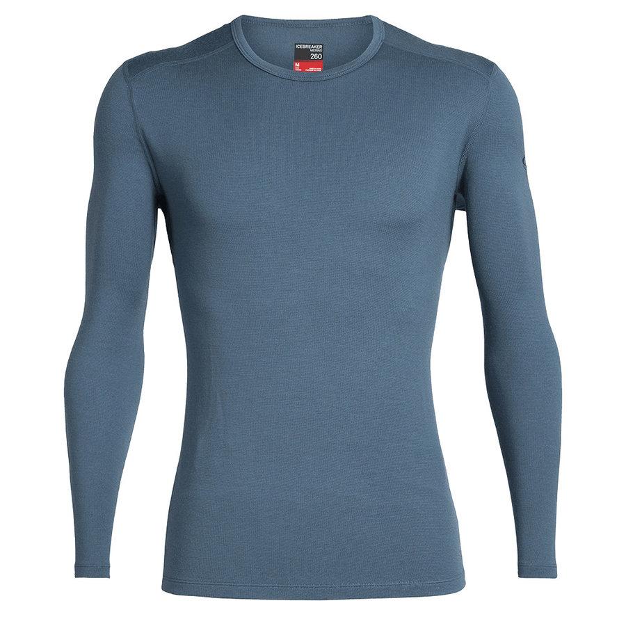 Merino pánské tričko Mens 260 Tech LS Crewe, Icebreaker
