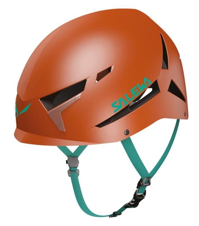 Oranžová horolezecká helma Vega, Salewa
