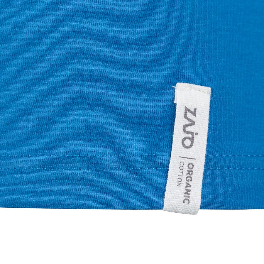 Modré pánské tričko s dlouhým rukávem Bormio T-shirt LS, Zajo - velikost XS