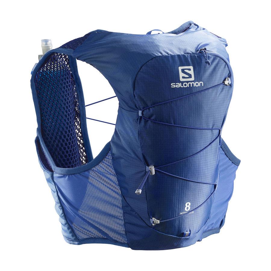 Běžecký batoh ACTIVE SKIN 8 SET, Salomon - velikost M