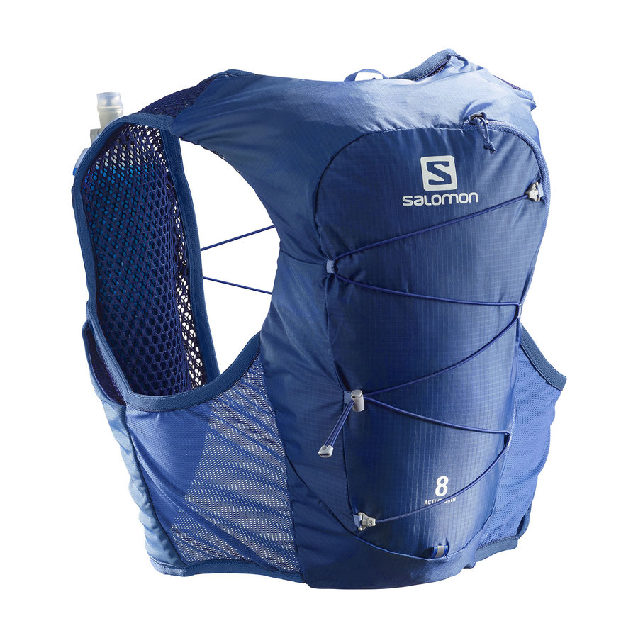 Běžecký batoh ACTIVE SKIN 8 SET, Salomon - velikost L