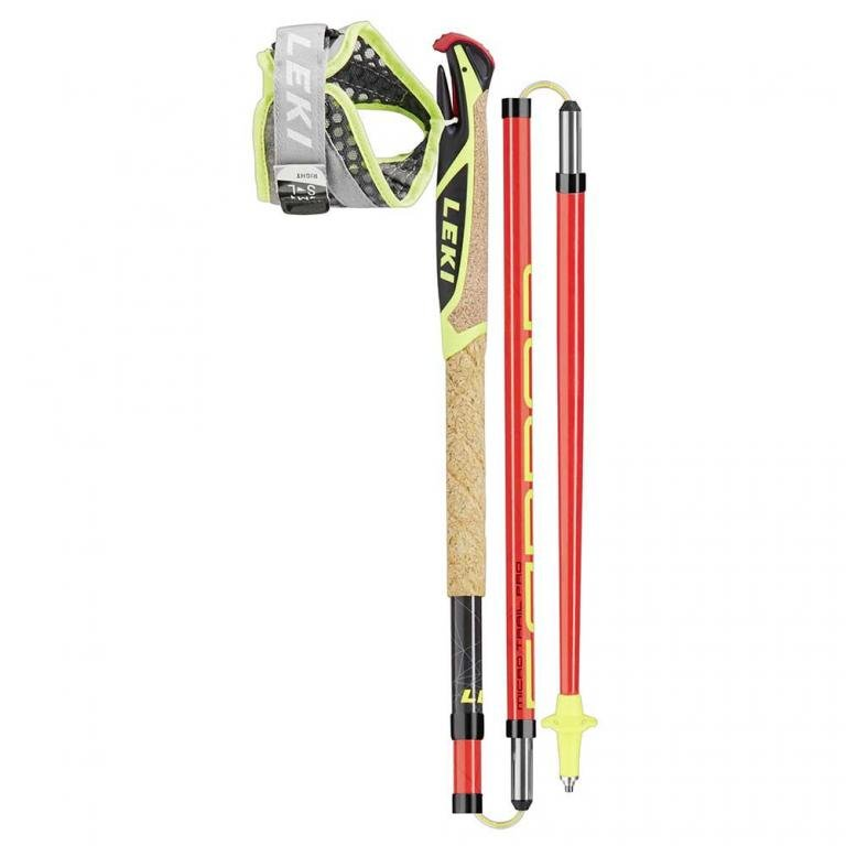 Běžecké nordic walking hole Micro Trail Pro, Leki - délka 125 cm