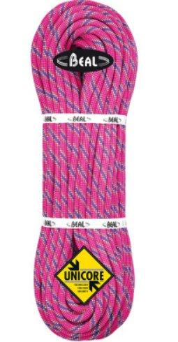 Růžové lano Tiger Unicore, Beal - délka 50 m a tloušťka 10 mm