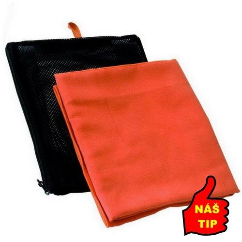 Oranžový rychleschnoucí ručník Suede, Jurek S+R