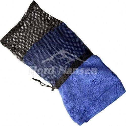 Modrý rychleschnoucí ručník Frota, Fjord Nansen - velikost L a 60x120 cm