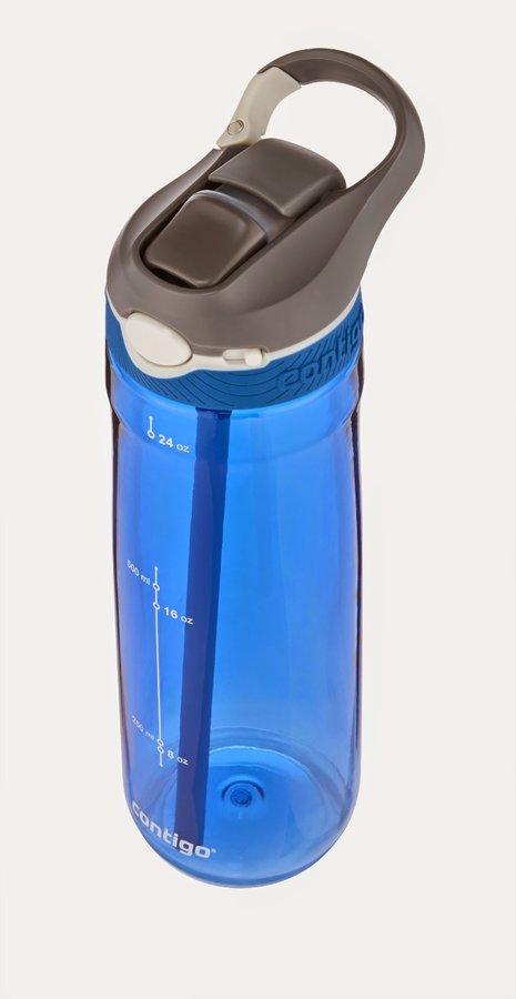 Modrá láhev s brčkem Autospout HL Ashland 750, Contigo - objem 0,75 l