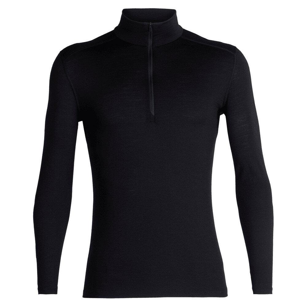 Merino pánské tričko Icebreaker 200 Oasis LS Half Zip - velikost M