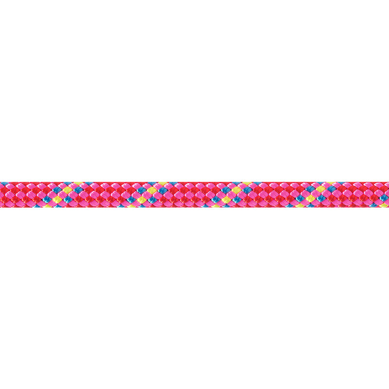 Růžové lano RANDO, Beal - délka 30 m a tloušťka 8,5 mm