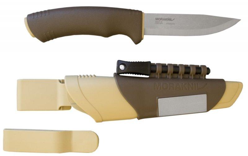 Nůž s pevnou čepelí Bushcraft Survival Desert, Morakniv