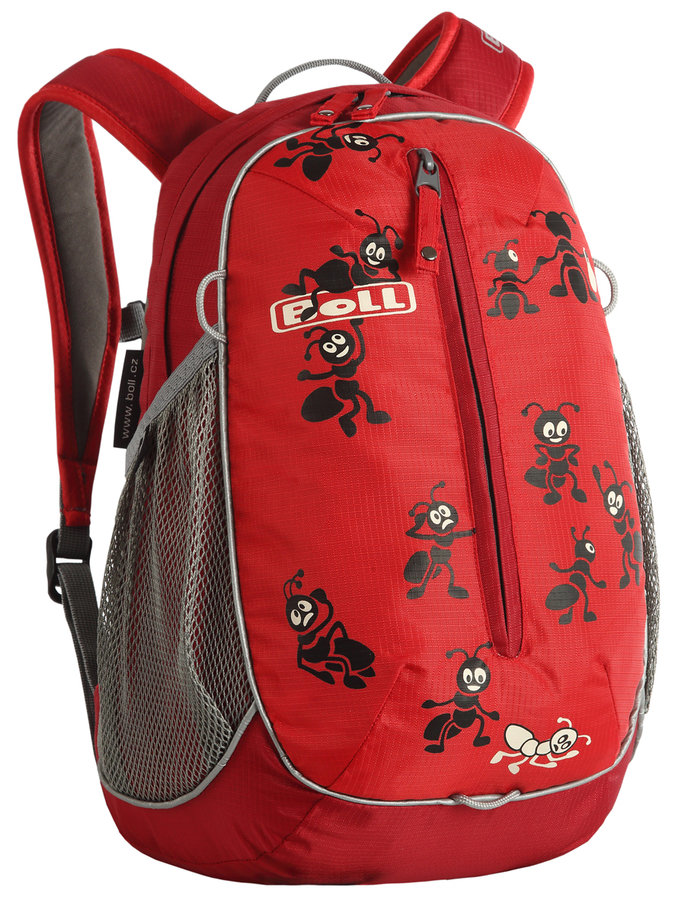 Červený turistický dětský batoh Roo 12, Boll - objem 12 l