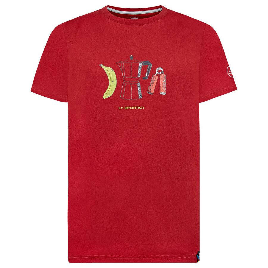 Tričko La Sportiva Breakfast T-Shirt Men - velikost XL