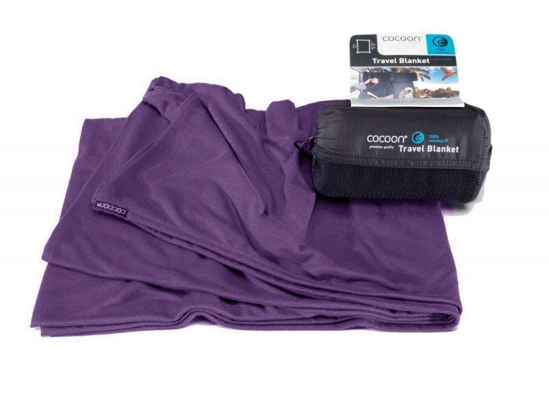 Cestovní deka Cocoon Coolmax eggplant