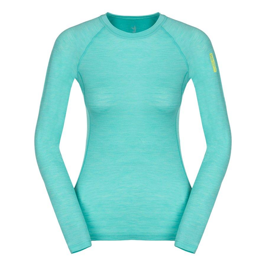 Merino dámské tričko Elsa Merino W Tshirt LS, Zajo - velikost S