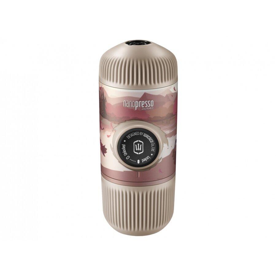 Cestovní kávovar Wacaco Nanopresso Fall Break s pouzdrem