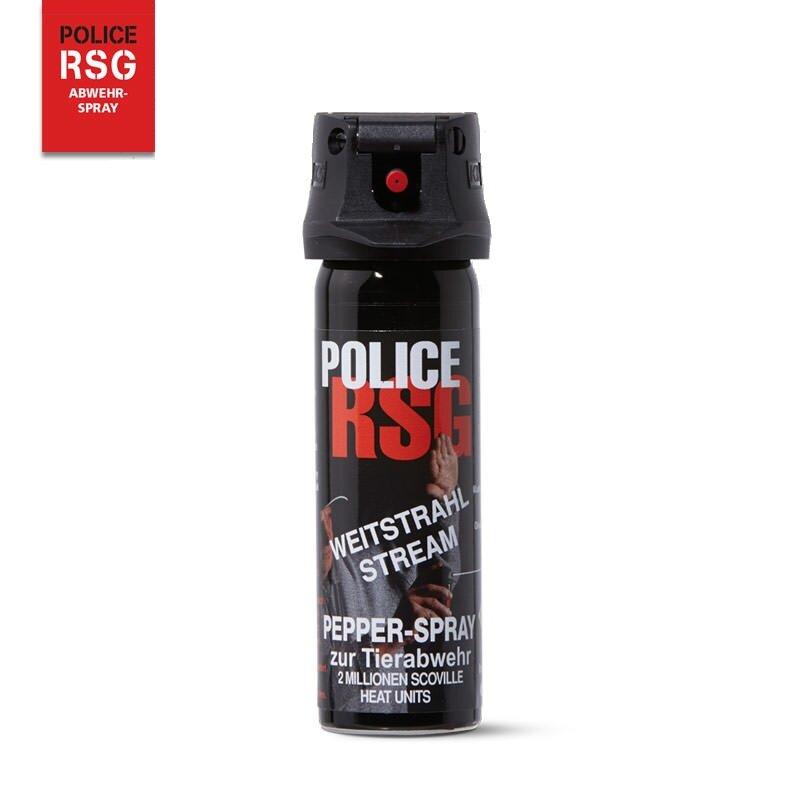 Pepřový sprej RSG Police Gel, Police RSG, KKS - objem 50 ml