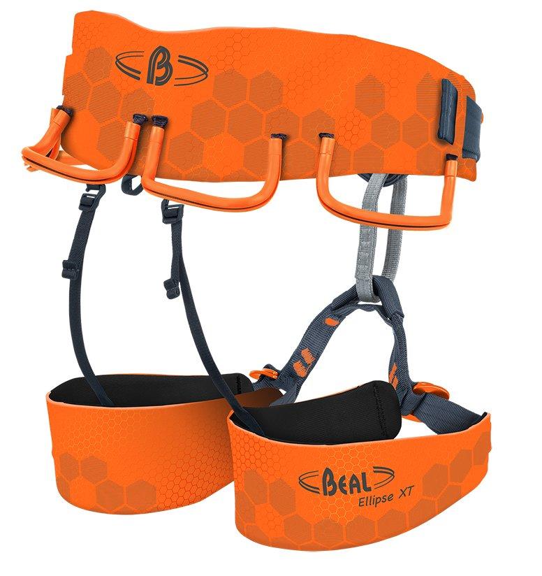 Oranžový sedací úvazek Ellipse XT, Beal - velikost S1