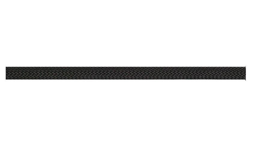 Černé lano statické Beal Intervention - délka 50 m a tloušťka 10,5 mm