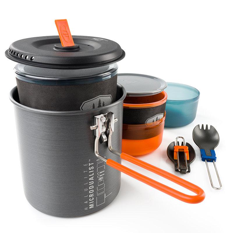 Sada nádobí Halulite Microdualist, GSI Outdoors - objem 1,4 l