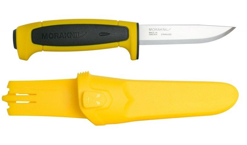 Nůž s pevnou čepelí Basic 546 Yellow /Black Limited, Morakniv
