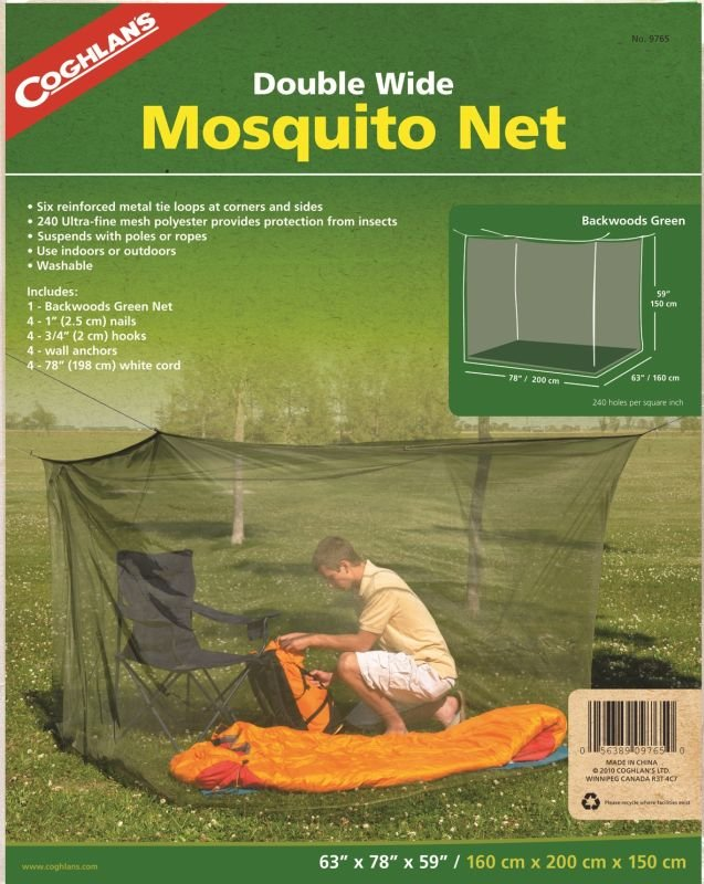 Moskytiéra Mosquito Net Double, Coghlan´s