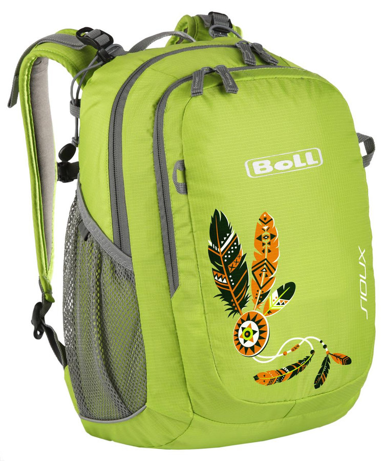 Zelený dětský batoh Sioux 15, Boll - objem 15 l