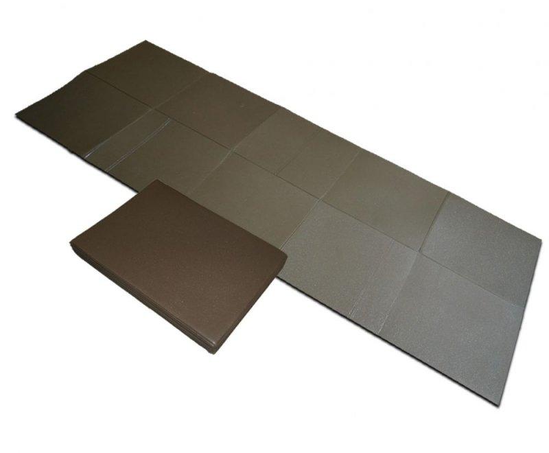Pěnová skladací karimatka NATO Folding Sleep Mat, BCB Adventure - délka 180 cm a tloušťka 0,5 cm