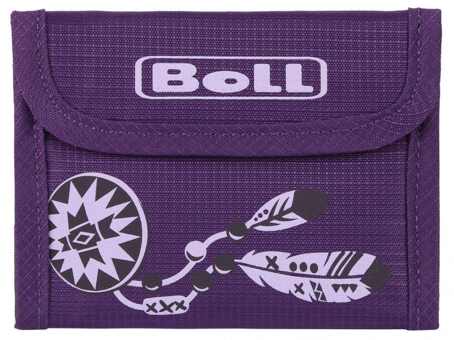 Fialová dětská peněženka Kids Wallet, Boll