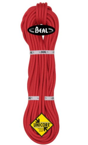 Červené lano Beal Wall School Unicore - délka 200 m a tloušťka 10,2 mm