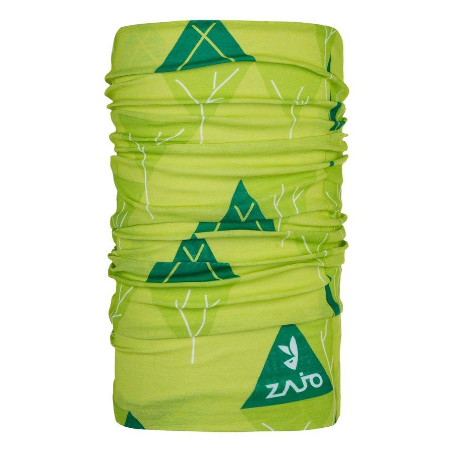 Zelený funkční šátek Unitube, Zajo