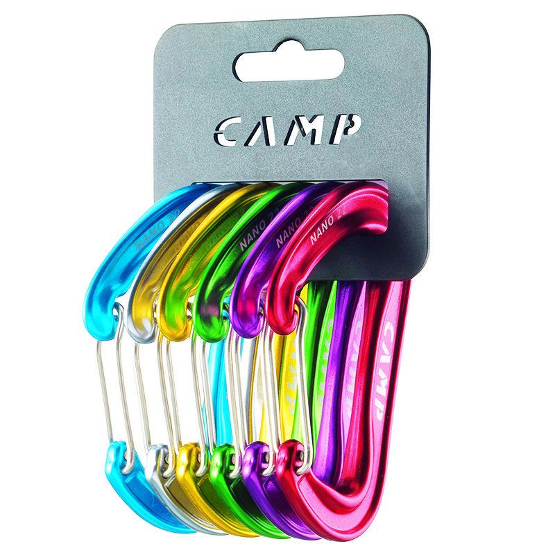 Drátová karabina Nano 22 Rack Pack, Camp
