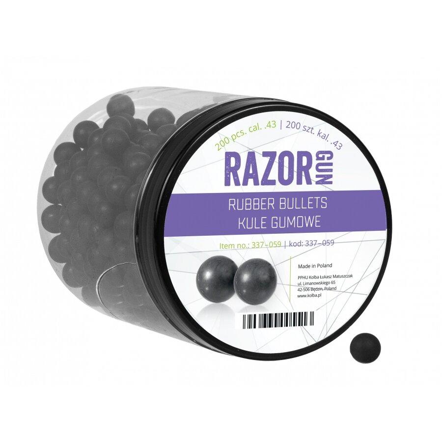 Kuličky RAM gumové RazorGun .43 200 ks