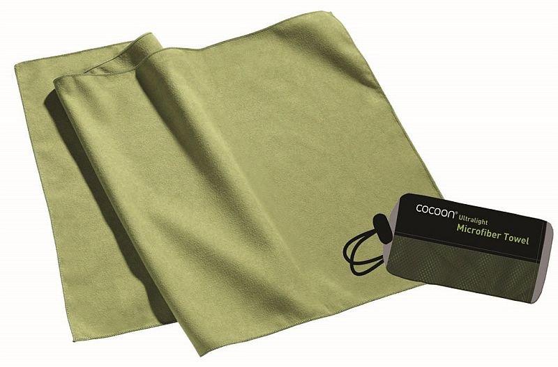 Zelený rychleschnoucí ručník wasabi, Cocoon