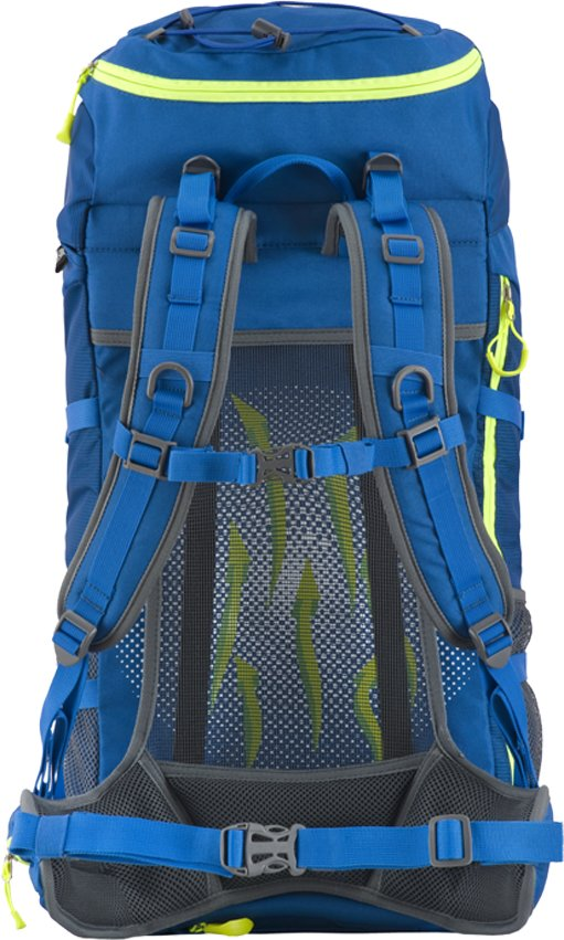 Modrý turistický batoh Sloper 45 l, Husky - objem 45 l