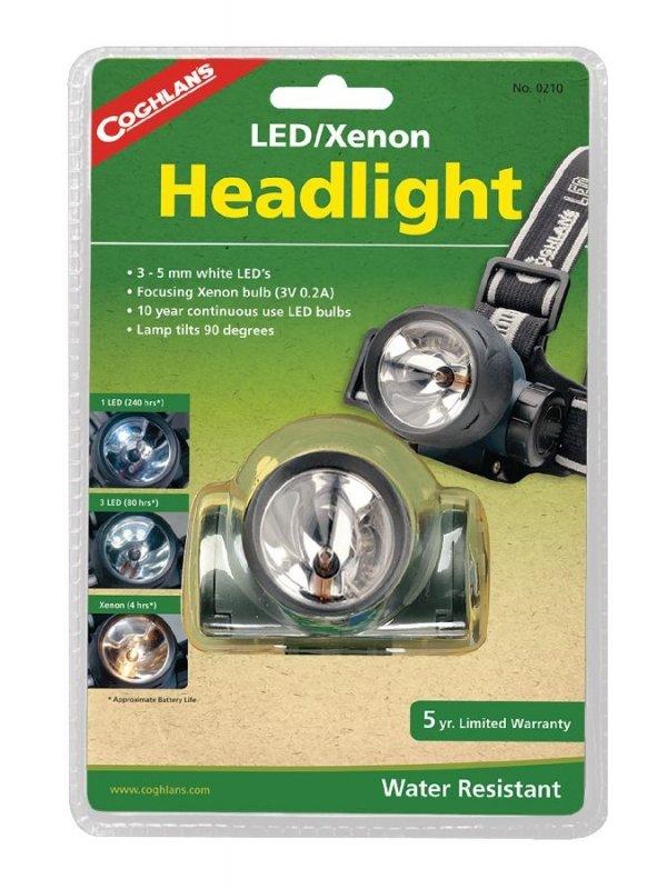 Čelovka LED/Xenon, Coghlan´s
