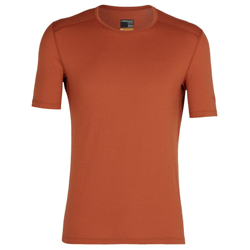 Merino pánské tričko Icebreaker 200 Oasis SS Crewe - velikost S