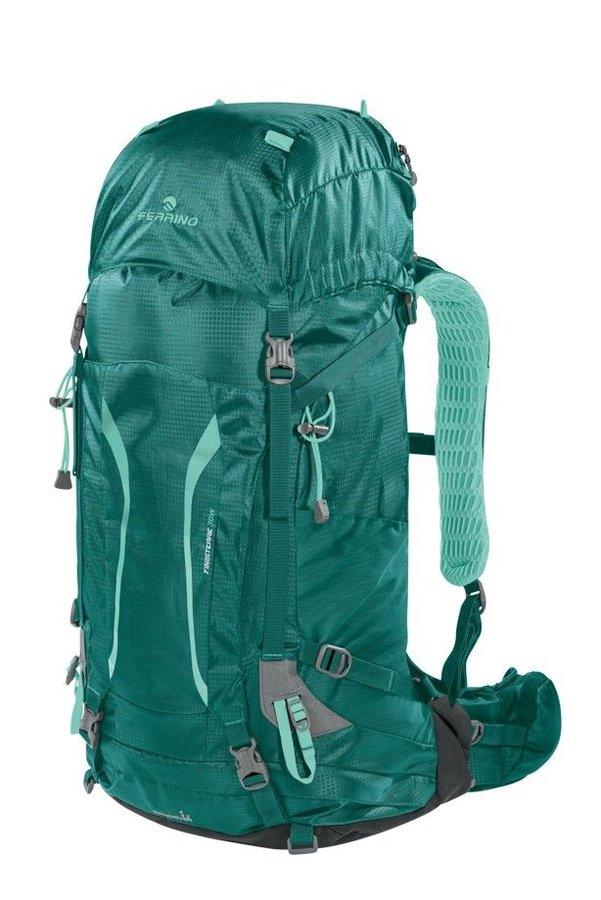 Zelený turistický dámský batoh Finisterre 30 Lady 2020, Ferrino - objem 30 l
