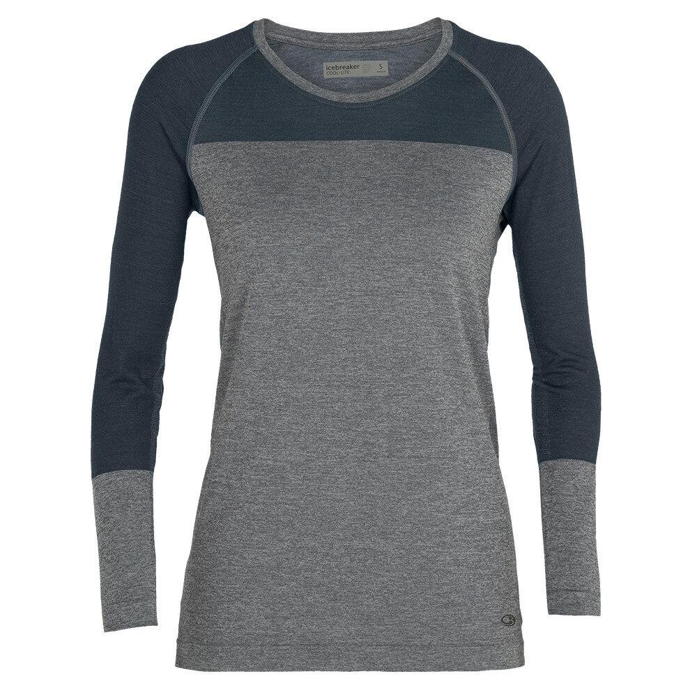 Merino dámské tričko Icebreaker Motion Seamless LS Crewe