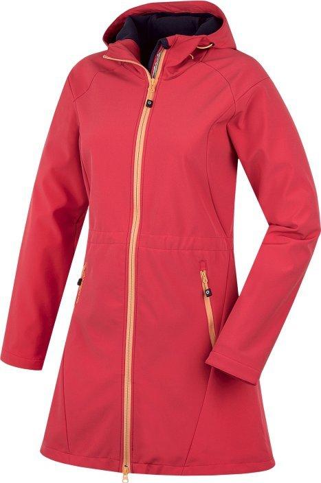 Červená dámská bunda Sara L, Husky - velikost XL
