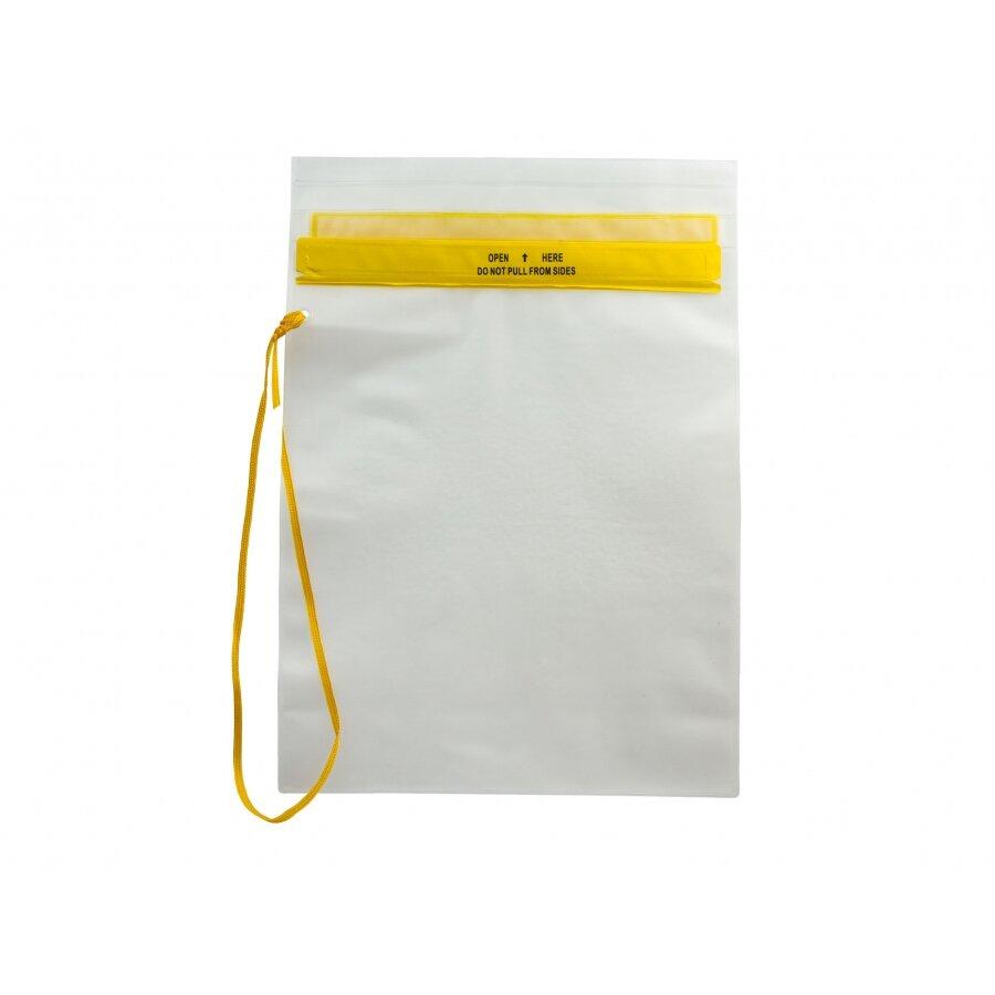 Žluté vodotěsné pouzdro MFH - velikost L