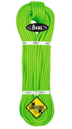 Zelené lano Opera Unicore, Beal - délka 50 m a tloušťka 8,5 mm