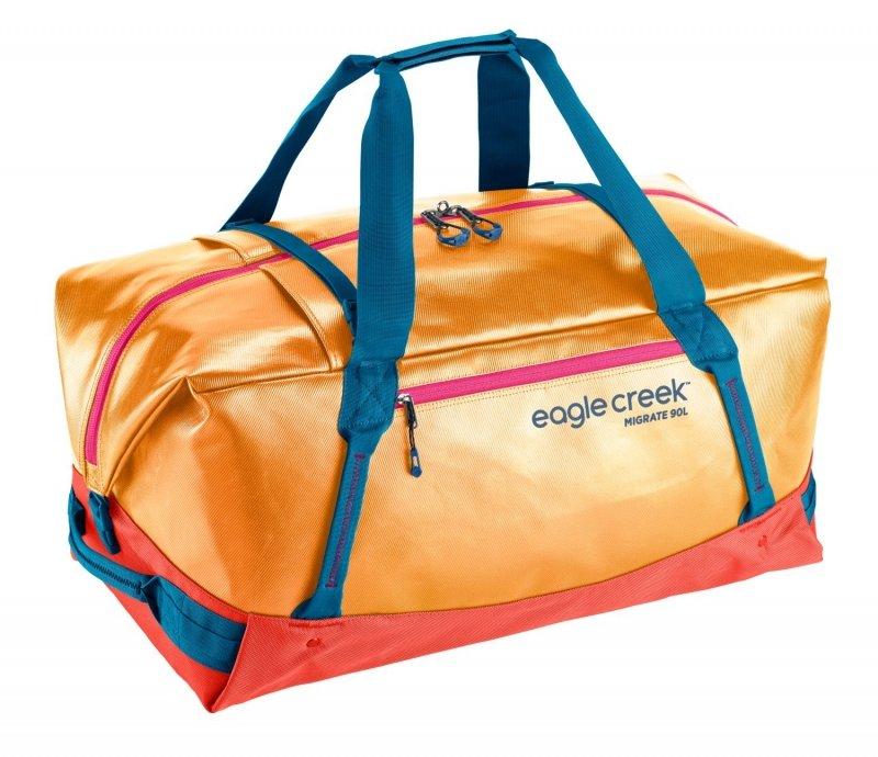 Oranžová cestovní taška Migrate Duffel, Eagle Creek - objem 90 l