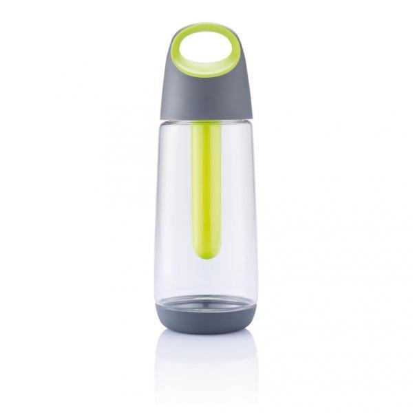 Šedá chladící láhev Bopp Cool, XD Design - objem 0,7 l