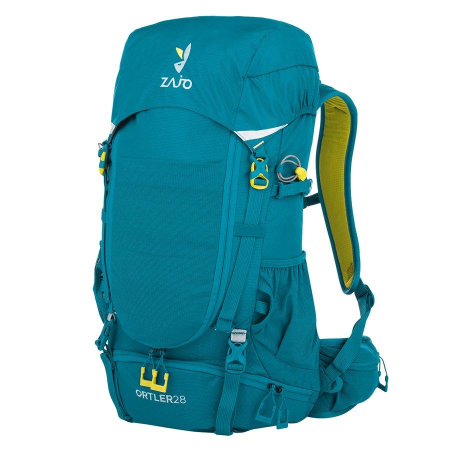 Modrý turistický batoh Ortler 28 Backpack, Zajo - objem 28 l