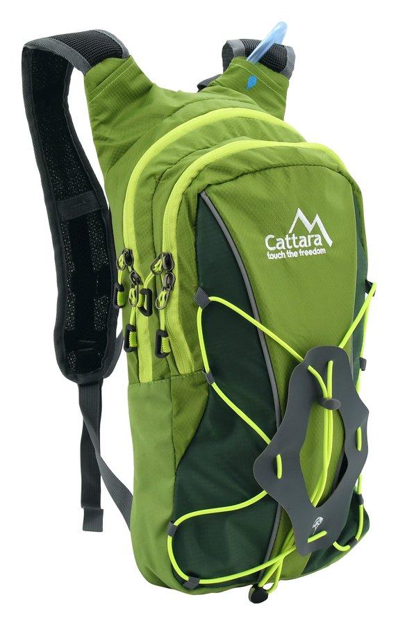 Zelený batoh GREEN, Cattara - objem 10 l