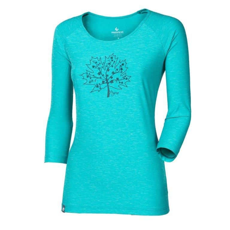 Modré dámské tričko NAOMI, Progress